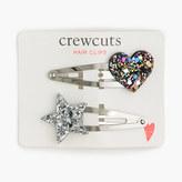 J.Crew Girls' celestial hair clips