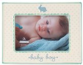 """Malden Ceramic Picture Frame, Baby Boy, 4"""" x 6"""" - Blue"""