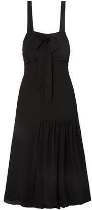 3.1 Phillip Lim Cutout Silk Maxi Dress