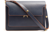 Marni Trunk large saffiano-leather shoulder bag