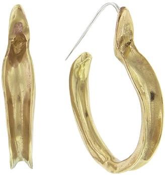 ARIANA BOUSSARD-REIFEL Kiki Hoop Earrings - Brass