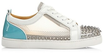 Christian Louboutin Sosoxy Junior Spikes Low-Top Sneakers
