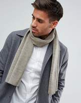 New Look Jersey Scarf In Stone