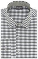 Kenneth Cole Reaction Men's Slim-Fit Techni-Cole Stretch Performance Gingham Dress Shirt