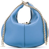 Nina Ricci chain saddle clutch