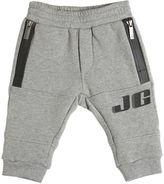 John Galliano Logo Printed Cotton Jogging Pants