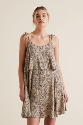 Seed Heritage Python Mini Dress