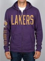 Junk Food Clothing Nba Los Angeles Lakers Half-time Hoodie-plum-l