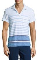 Orlebar Brown Terry Striped Polo Shirt