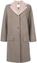 Agnona buttoned coat - women - Cashmere - S