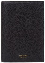 Tom Ford Grained Leather Passport Holder