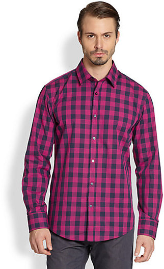HUGO BOSS Ronny Check Sportshirt