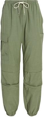 John Elliott Himalayan Cotton-Blend Pants