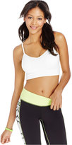 Material Girl Active Juniors' Ribbed Sports Bra