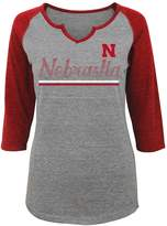 NCAA Juniors' Nebraska Cornhuskers Over the Line Tee