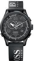 HUGO BOSS Men's Black Branded Strap Watch