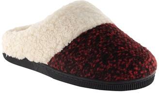 Nest Footwear Faux Fur Trimmed Clog Slipper