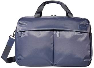 Lipault Paris City Plume 24 Hour Bag (Steel Blue) Handbags