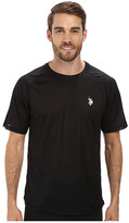 U.S. Polo Assn. Solid Rashguard UPF 50+ Swim T-Shirt
