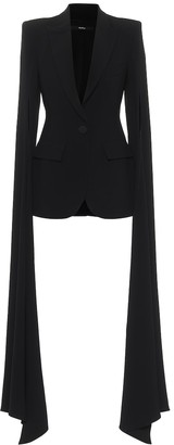 Alex Perry Paige satin-crepe blazer