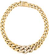 Chimento Graduated Curb Chain Bracelet
