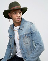 Brixton Deadwood Hat with Wide Brim