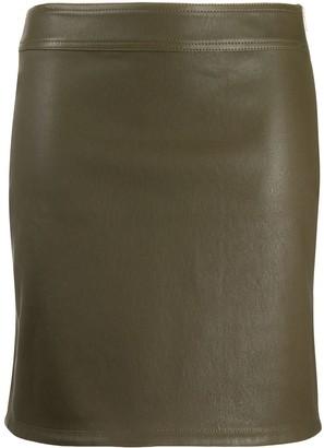 Helmut Lang Fitted Mini Skirt