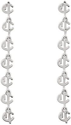 Cvlcha Drop Earrings - Silver