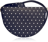 Victoria Beckham Baby Half Moon Dots Navy Bag