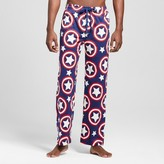 Captain America Men's Captain America Shields Logo Pant - Navy