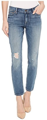 Lucky Brand Lolita Crop Jeans in Hubbard Destruct (Hubbard Destruct) Women's Jeans
