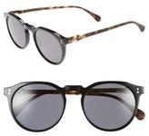 Raen Men's 'Remmy' 52Mm Polarized Sunglasses - Matte Tortoise/ Black/ Smoke