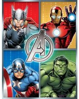 Marvel Avengers 46 X 60 Plush Microfiber Throw 032281257750