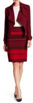 Anne Klein Troubadour Stripe Knit Skirt