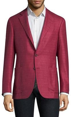Canali Regular-Fit Silk-Cashmere Blazer