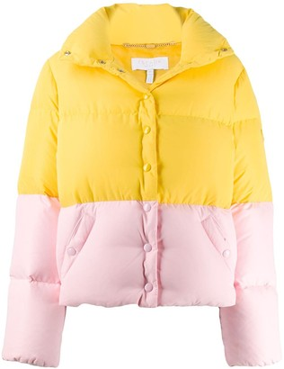 Escada Sport colour block padded jacket