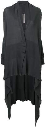 Rick Owens draped long cardigan