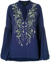 Andrea Bogosian embroidered long sleeves blouse