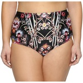 Becca by Rebecca Virtue Plus Size Havana High Waist Bottoms Women's Swimwear