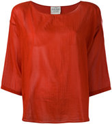 Forte Forte three-quarter sleeve blouse - women - Silk/Cotton - 2