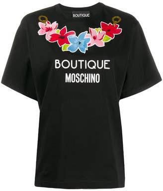 Boutique Moschino printed logo T-shirt