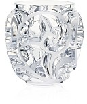 Lalique Tourbillons Small Clear Vase