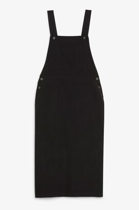 Monki Utility dungaree dress