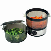 JCPenney CHEF BUDDY Chef BuddyTM 4-qt. Stainless Steel Food Steamer