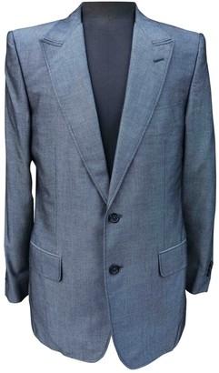 Saint Laurent Grey Cotton Jackets