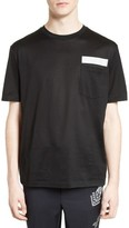 Lanvin Men's Reflective Tape Tee