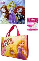 Disney Princess 16 Months 2014 Calendar+ Princess Small Tote Bag+disney Princess Silicone Band Bracelet