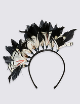 M&S Collection Flower Band Fascinator