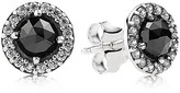 Pandora Earrings - Sterling Silver, Spinel & Cubic Zirconia Glamorous Legacy Stud