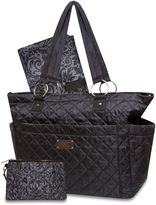 Wendy Bellissimo Wendy BellissimoTM Quilted Diaper Tote in Black